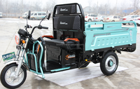 1.6meter cargo carriage with big load capacity electric tricycle/three wheeler/ model DL-02