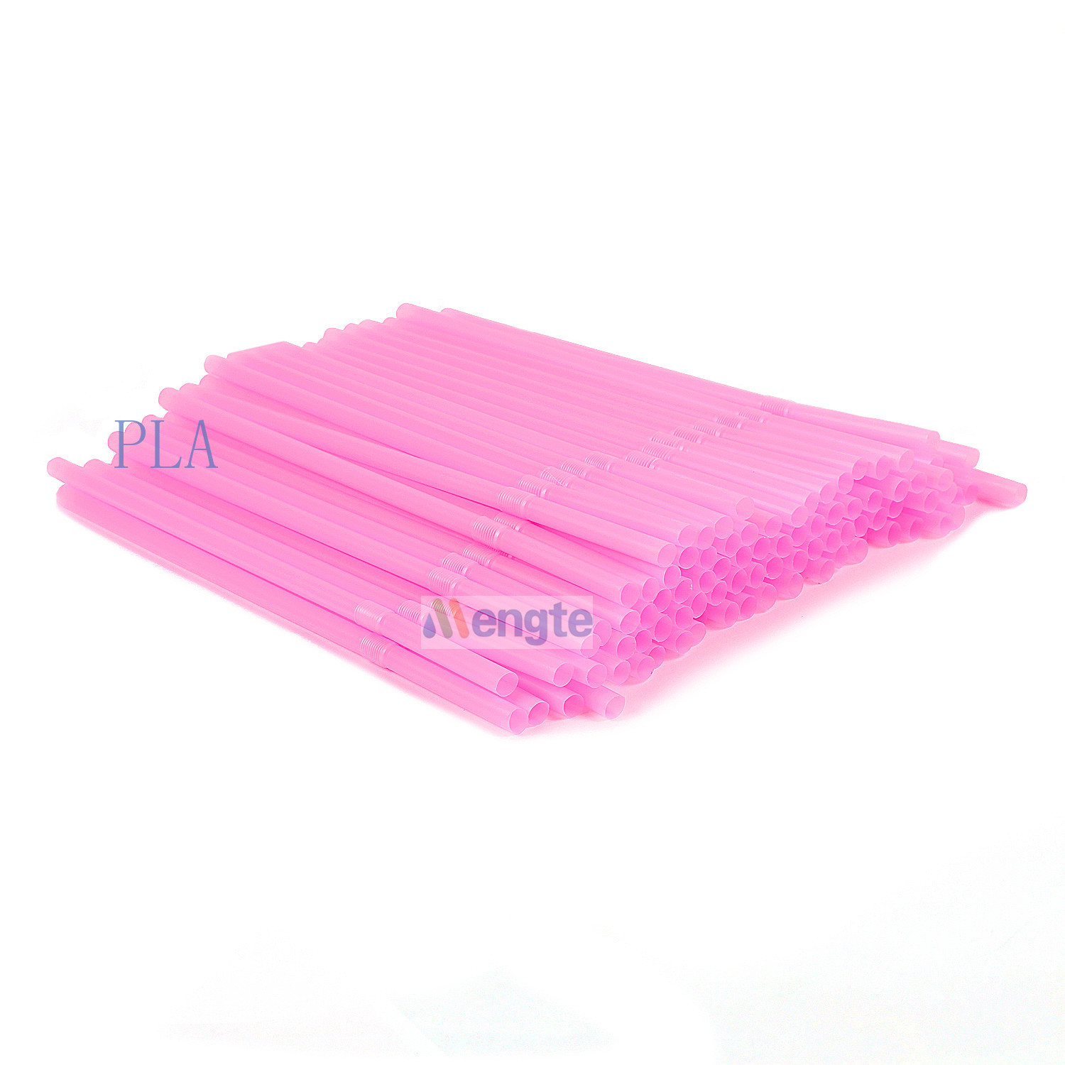 Corn starch 100% biodegradable non plastic drinking straw PLA straws