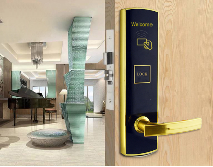 Udohow Keycard hotel door access control