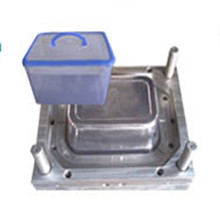 Durable Plastic Injection Laundry Basket Mould / Plastic Basket Injection Mould / Daily Use Plastic Basket Mould
