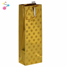 Paper wine bag greetings group bottle paper wine gift bag packaging