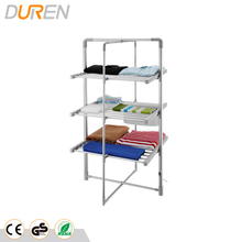 3 Tier Heated Airer electric heated clothes racks with heat-shrinking