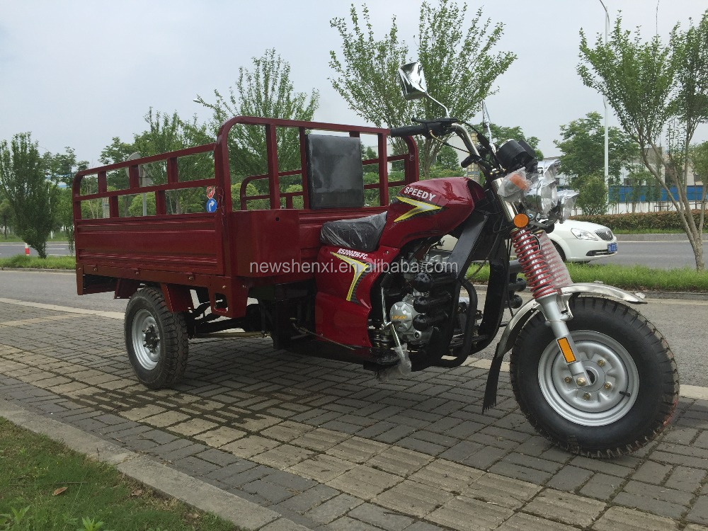 Gas Motor Tricycle for Cargo 250CC Engine Three Wheels