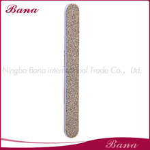 Personalized wholesale golden glitter nail file for gift