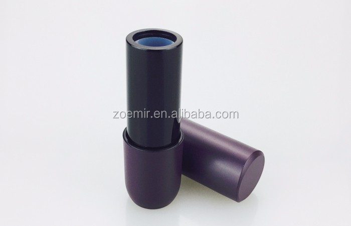 make up magnetic lipstick packaging matte surface plastic lipstick tube with magnet close