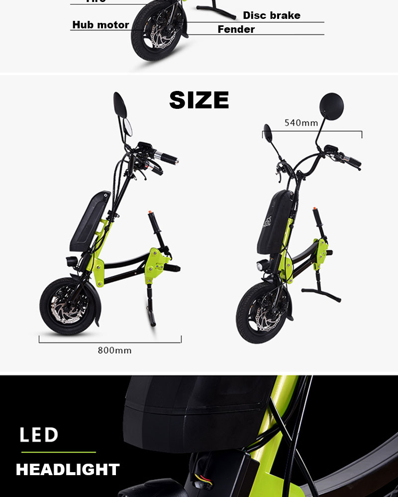 2018 New Design Electric Motor for Wheelchair