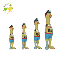 Alibaba Express Good Quality Pirate Chicken Latex Dog Toys
