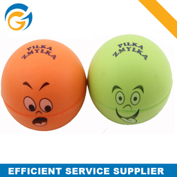 Different Colors and Sizes Smiling Face Ball