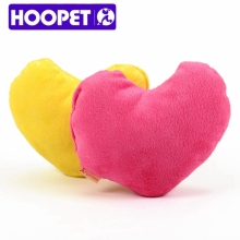 Dog Supplies Heart Shape Squeaky Floss Pet Toy Plush Wholesale