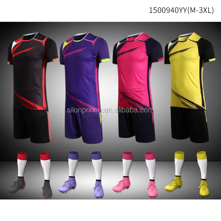 Wholesale Men Football Jersey,Quick Dry,Factory direct sales of new football jersey,