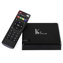 K1 Plus Kodi15.2 Android 5.1 Lollipop Amlogic S905 Quad Core Ott Tv Box High Quality K1 Plus smart Tv Box