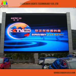 Full Color Outdoor P10 Stadium Clock LED Display LED Time Digital Countdown Timing