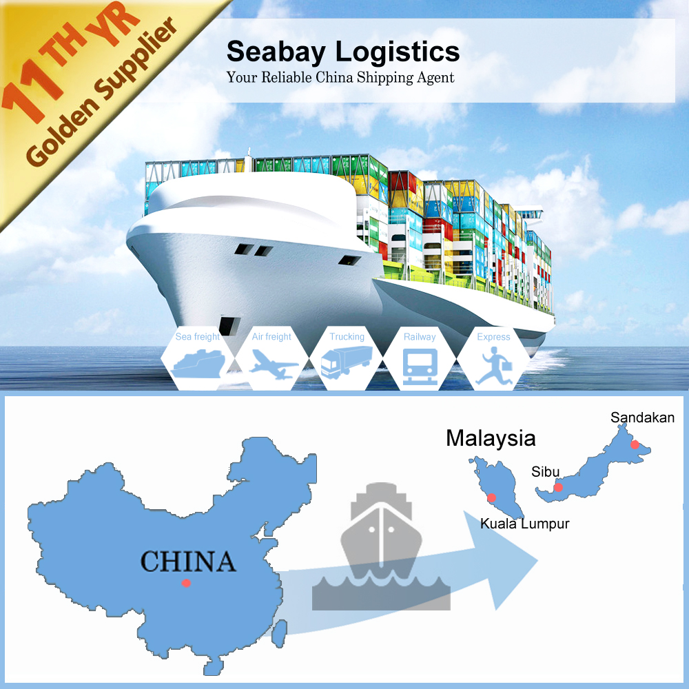 Reliable international ocean sea freight container shipping to Kota Kinabalu