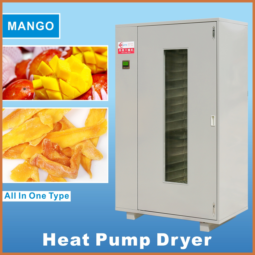 Professional Air Source Heat Pump Dehydrator Fruit Vegetable Dryer Food Drying Machine for Corn Onion Mango