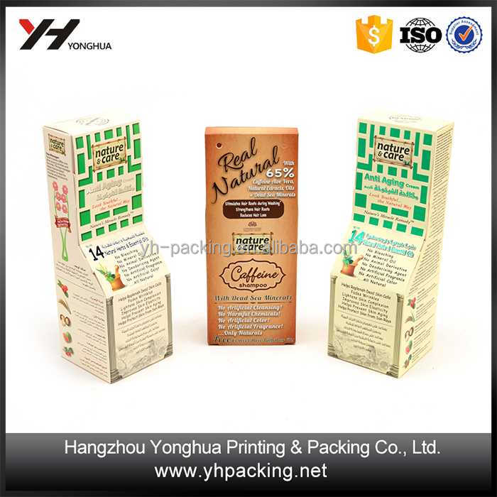 Custom Recycled Materials New Product paper box packaging custom made paper cigarette box printing