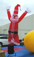 Santa Claus Inflatable Air Dancing Man For Christmas C1004