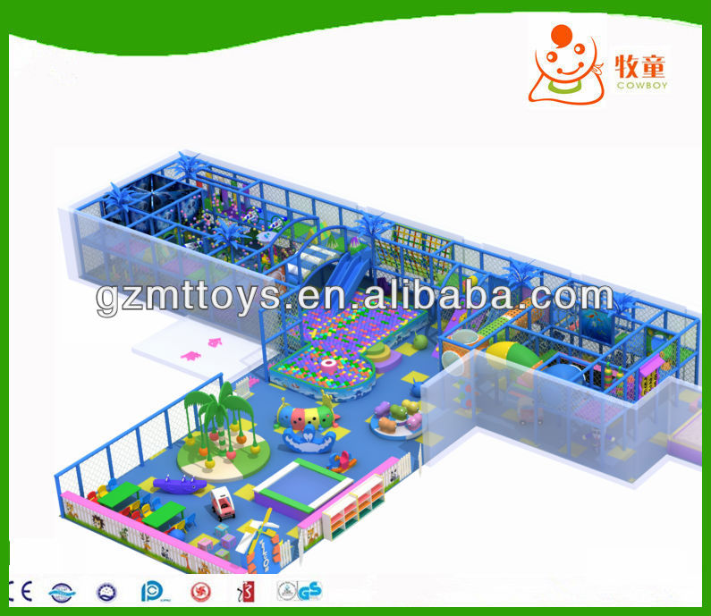 Soft playground Naughty fort of kids indoor games