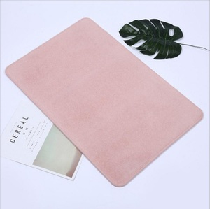 Eco-friendly Diatomite Anti Slip Bath Mat With Fast Dry Water Absorption