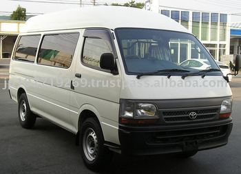 2001 Japanese Used TOYOTA HIACE VAN Superlong car