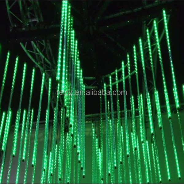 Night club LED lighting vertical dmx 3d tube for night club decoration