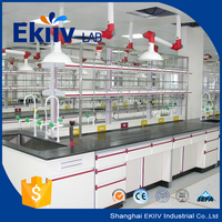 primary school chemical laboratory furniture with under cabinets