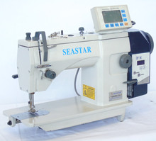 leather patch industrial zigzag patch sewing machine automatic textima/control box for sale C4