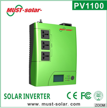 < Must Solar> PV1100 plus series The Newest Housing Portable 1200va 2400va Modified Sine Wave solar inverter In Lahore