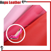 free sample pu new design woven pattern leather for shoes lining material customized
