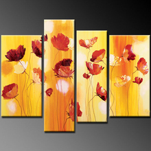 Elegant Styles Flower Oil Painting for home