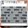 Competitive Price Waterproof Roofing Material Colored Fiberglass Asphalt Shingles