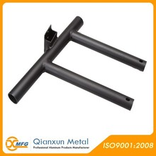 High quality aluminum welded pipe fabrication parts metal parts