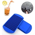 New Year Safety 160 Ice Cubes Mini Cube Silicone Tray Mould Tool Silicone Ice Cube Mould Dishwasher Safe