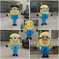 China factory classical design adult despicable me minion mascot cosplay