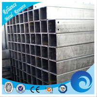 40x40 GALVANIZED STEEL SQUARE PIPES