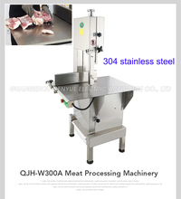stainless steel commercial electric bone saw machine meat saw band cutting machine