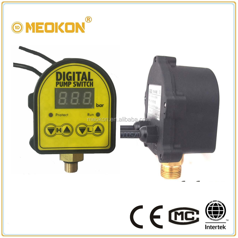 Intelligent Automatic Digital Pressure Control for Water Pump
