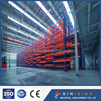 Chinese warehouse racking system