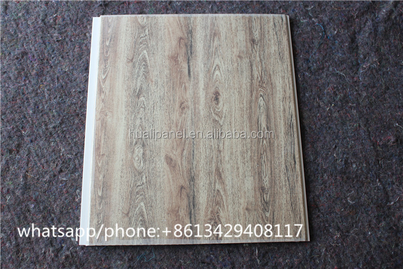 hot stamping wood design interal decorative artistic wall panelling ceiling panel