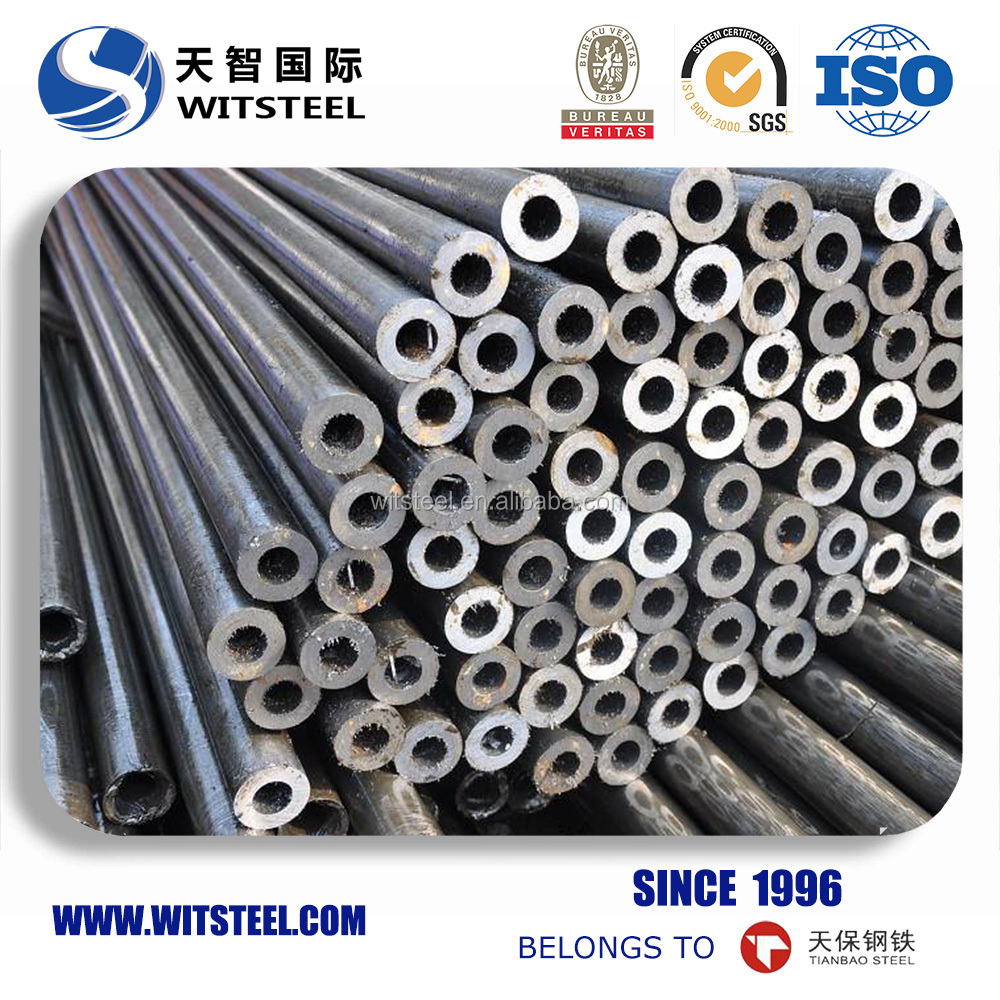 pickling and saponified seamless steel pipe from liaocheng