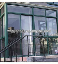 balcony glass windows and doors made in china