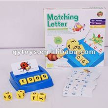 Student Learning Material Educational Letter Matching Game Scrabble Tiles