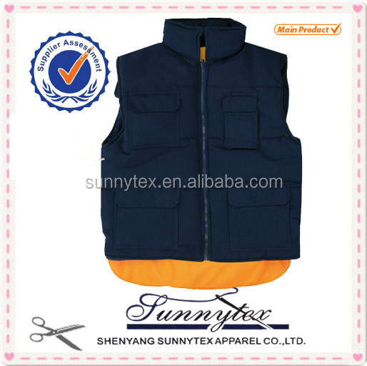 multi pockets outdoor clothing casual young mens fashion vest