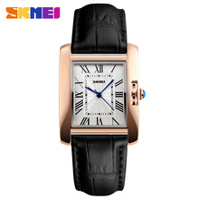 Skmei precious collection wholesale quartz ladies hand watch reloj mujer leather strap
