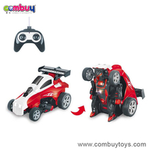 New design transform 360 degrees rc tunt track car toy
