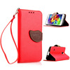 Leather Flip Leaf Wallet Case Card slot Cover for Samsung Galaxy S5 mini G800