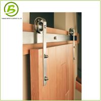 Wood sliding stainless steel interior barn door hardware