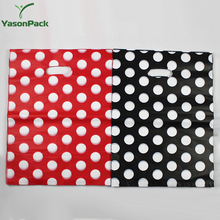 Customizable antibacterial compressible elegant target resuable plastic clothing shopping bag