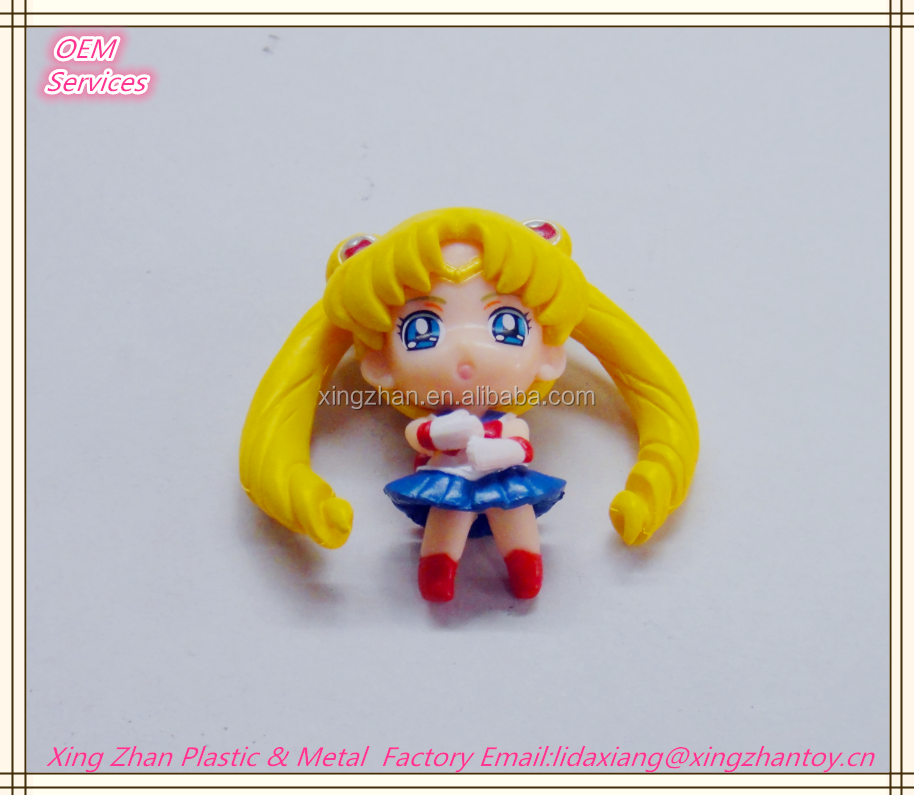 Mini Plastic 3D Sailor Moon