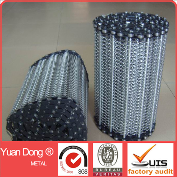 Food grade stainless steel 304 conveyor belt mesh Factory