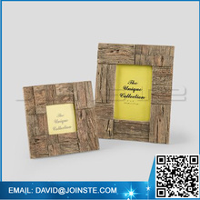 Small picture photo frame with backboard